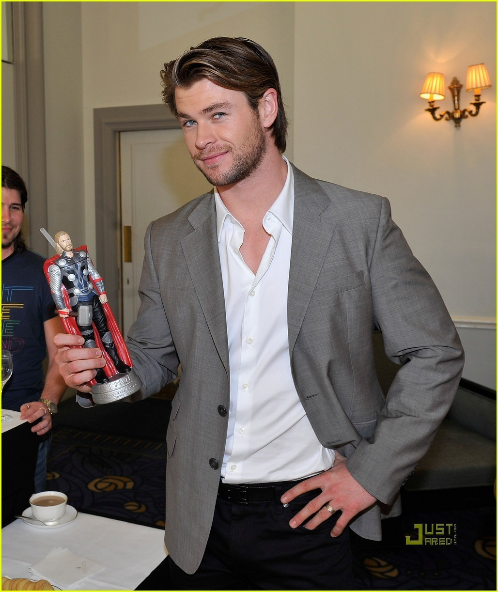Chris Hemsworth: Thor Slurpee Cup! - chris-hemsworth photo