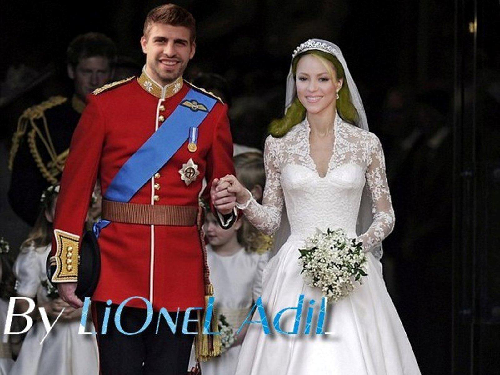 Piqué And Shakira Royal Wedding