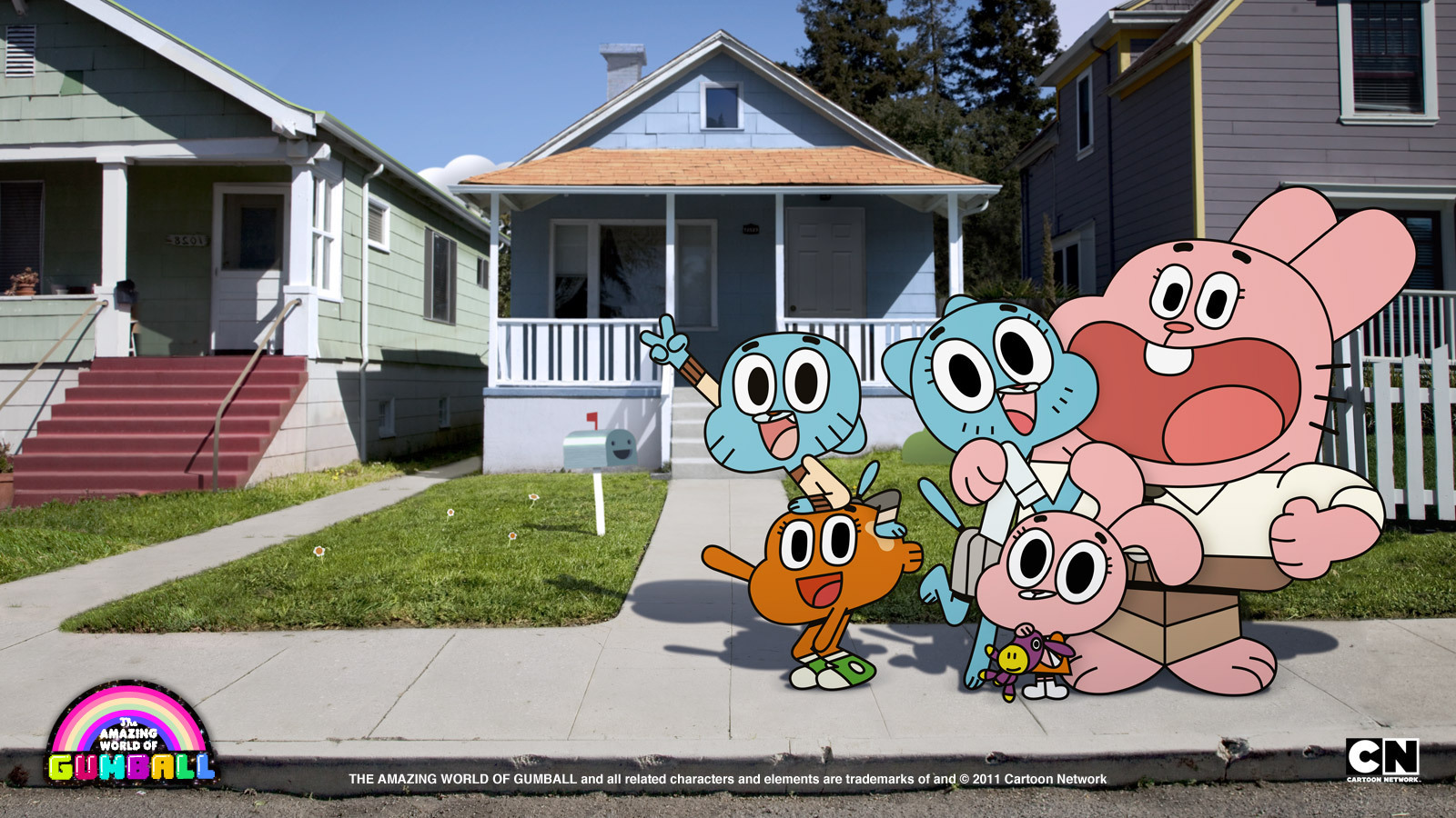 The Amazing World Of Gumball Images The Wattersons Wallpaper Photos