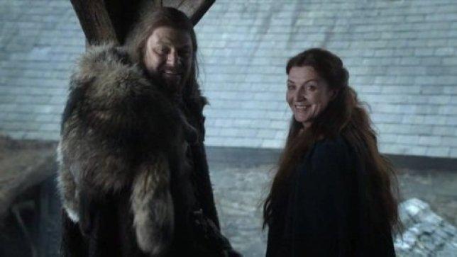 Ned-Catelyn Stark ile ilgili görsel sonucu