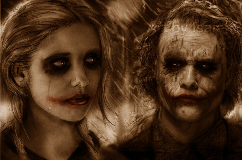 Farewell Mr. J - the-joker-and-harley-quinn fan art