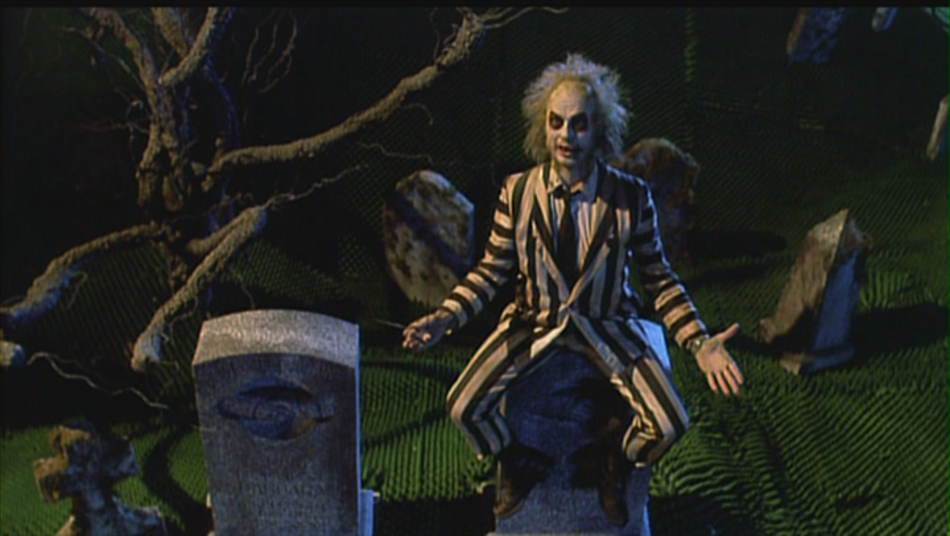 Parallax home of jesse maitland - The Over The Top Michael Keaton Figures In Only About Of The Third Of The Show Which Is Perfect Judgment Beetlejuice Rattles On Like Robin Williams