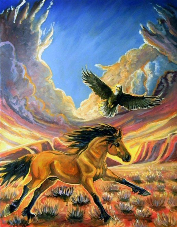 paint spirit stallion of the cimarron # 8