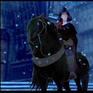Image result for snowball horse disney hunchback images