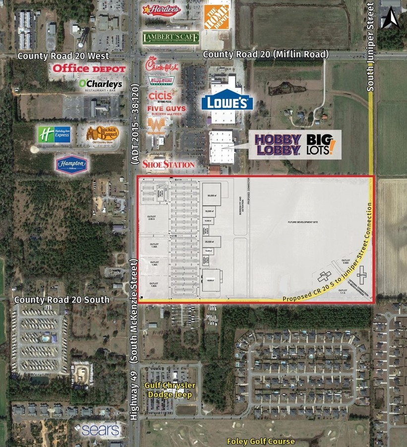 3201 S Mckenzie  Foley  AL  36535   Commercial Property For Lease on     3201 S Mckenzie  Foley  AL  36535   Commercial Property For Lease on  LoopNet com