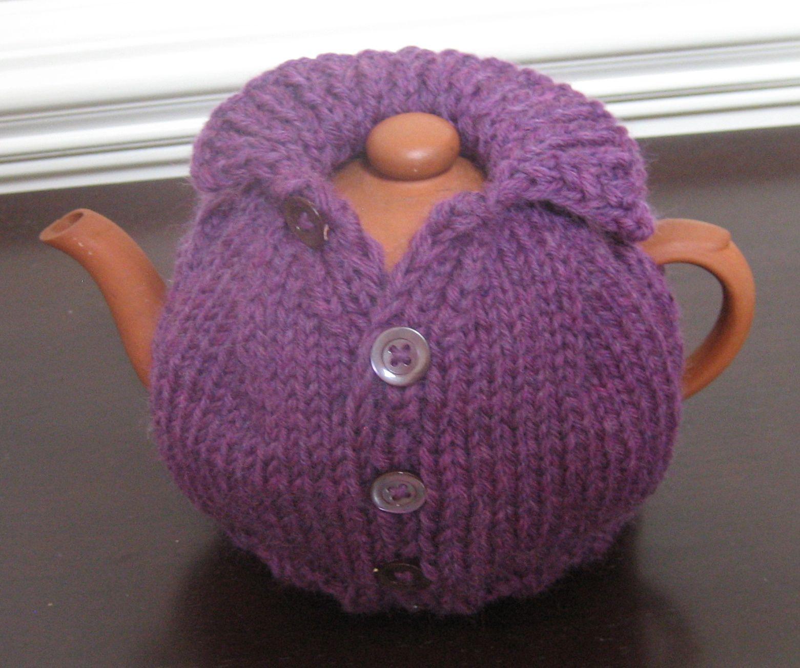 Suzyn Jackson Gonzalez' - The Purple Tea Cosy