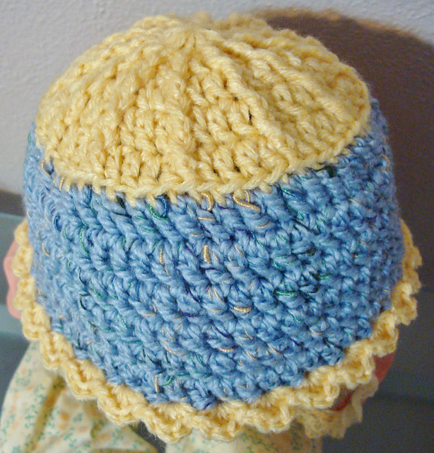 Sun and Sky Baby Hat