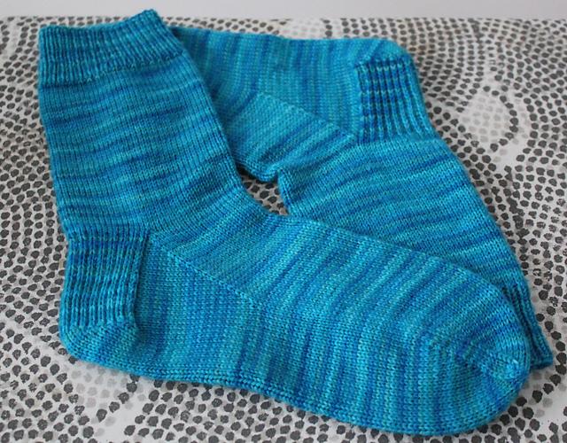 Blue Yonder Tonal Socks