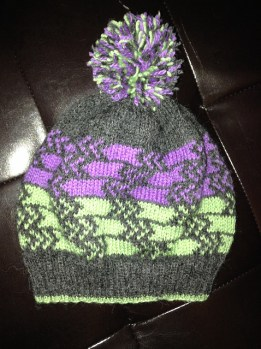 City Lights Beanie by IrkedTurtle
