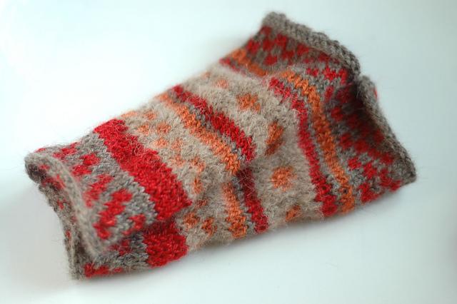 handmade knitwear wrist warmers alpaca