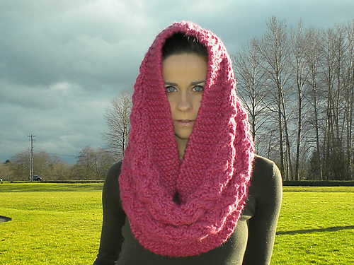 Free Pattern Friday Woven Snood By Taryn Nikolic Beloved Knits