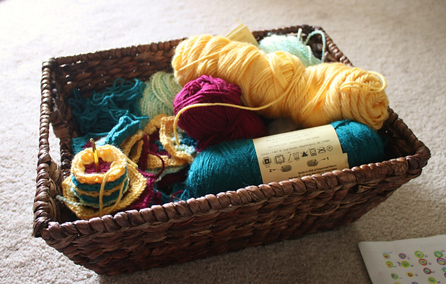 yarns basket