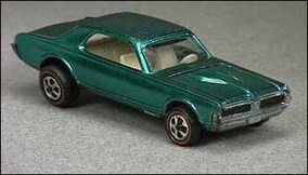 Hot Wheels 68 cougar