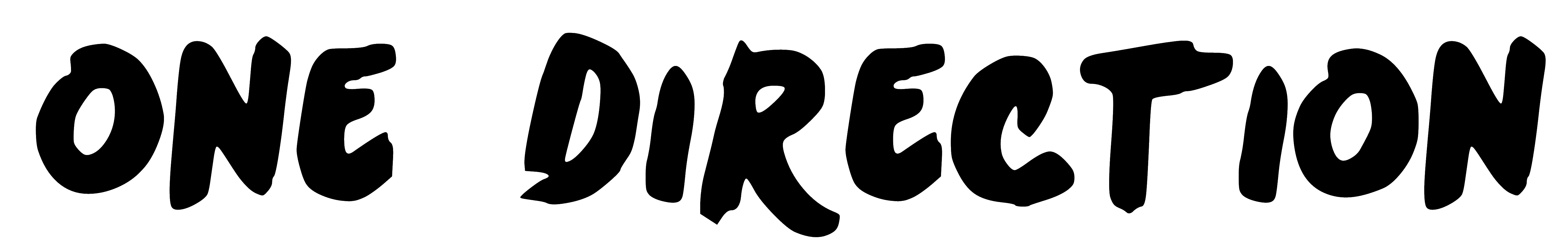 displaying 16 gt images for one direction logo font
