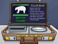 The Fur Scanner showing the Polar Bear.