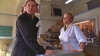 Ben and Jill discuss Locke's corpse.