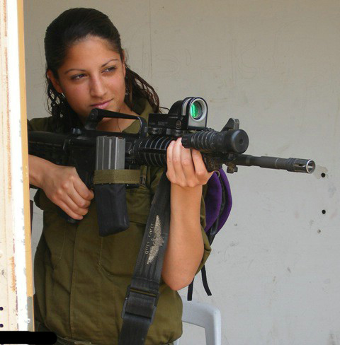 GIRLS OF THE IDF. Israels BEST!