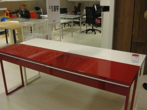 Ikea BESTA BURS double desk