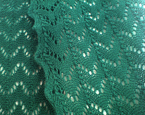* Fishtail Lace Scarf - very nice!