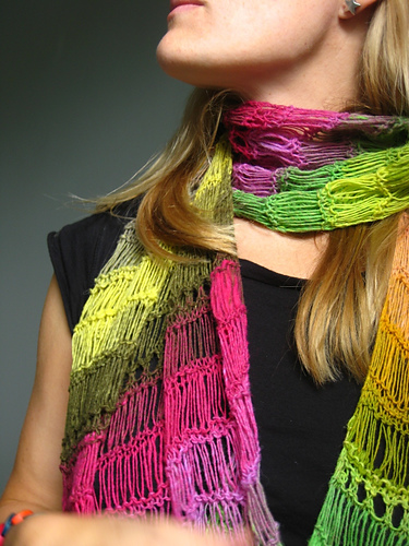 * I seriously LOVE the name this knitter used for her project: Marmalade Skies!  How awesome is that?!