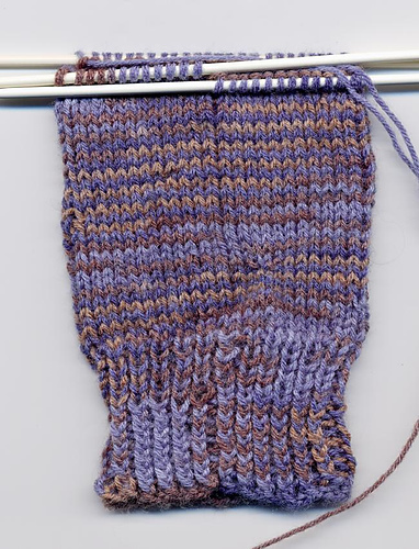 First Sock, Day 2