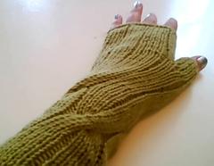 Dashing wrist warmers