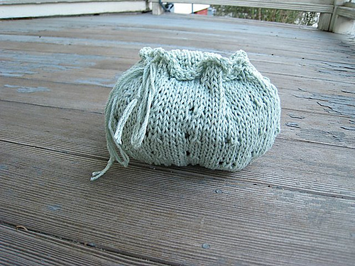 Cute knit bag!