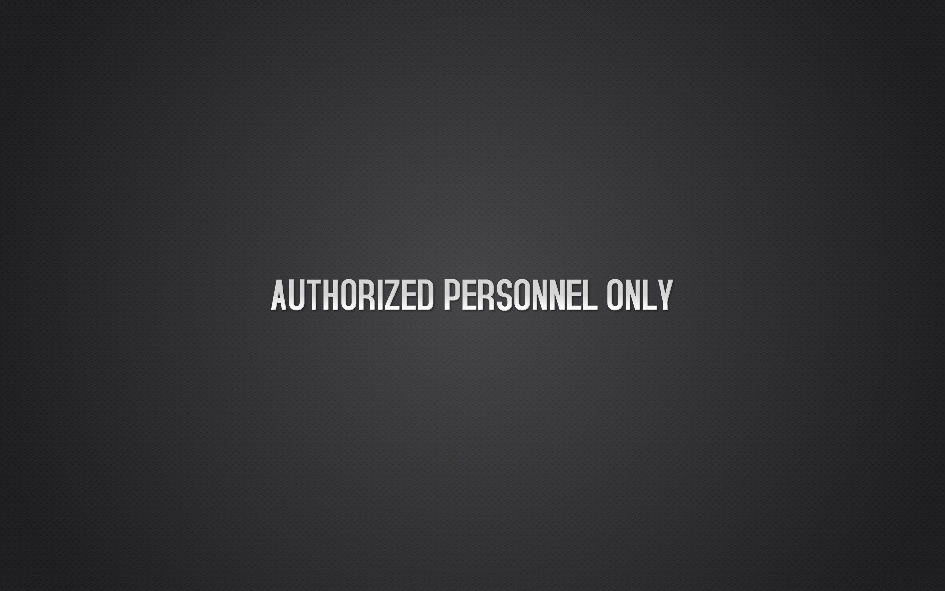 Personnel Authorized And Only Spanish English