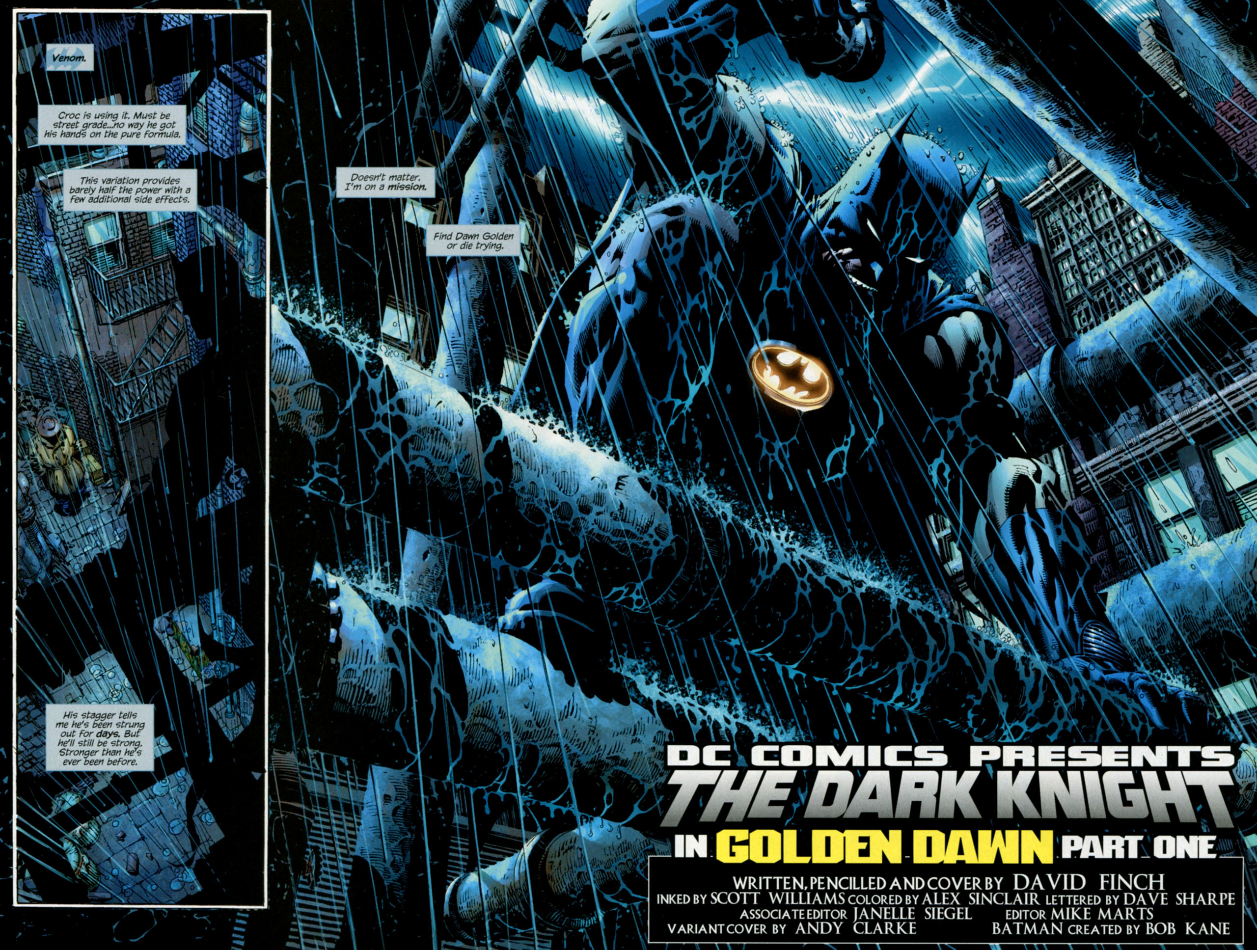 The Dark Knight Golden Dawn Hd Wallpaper
