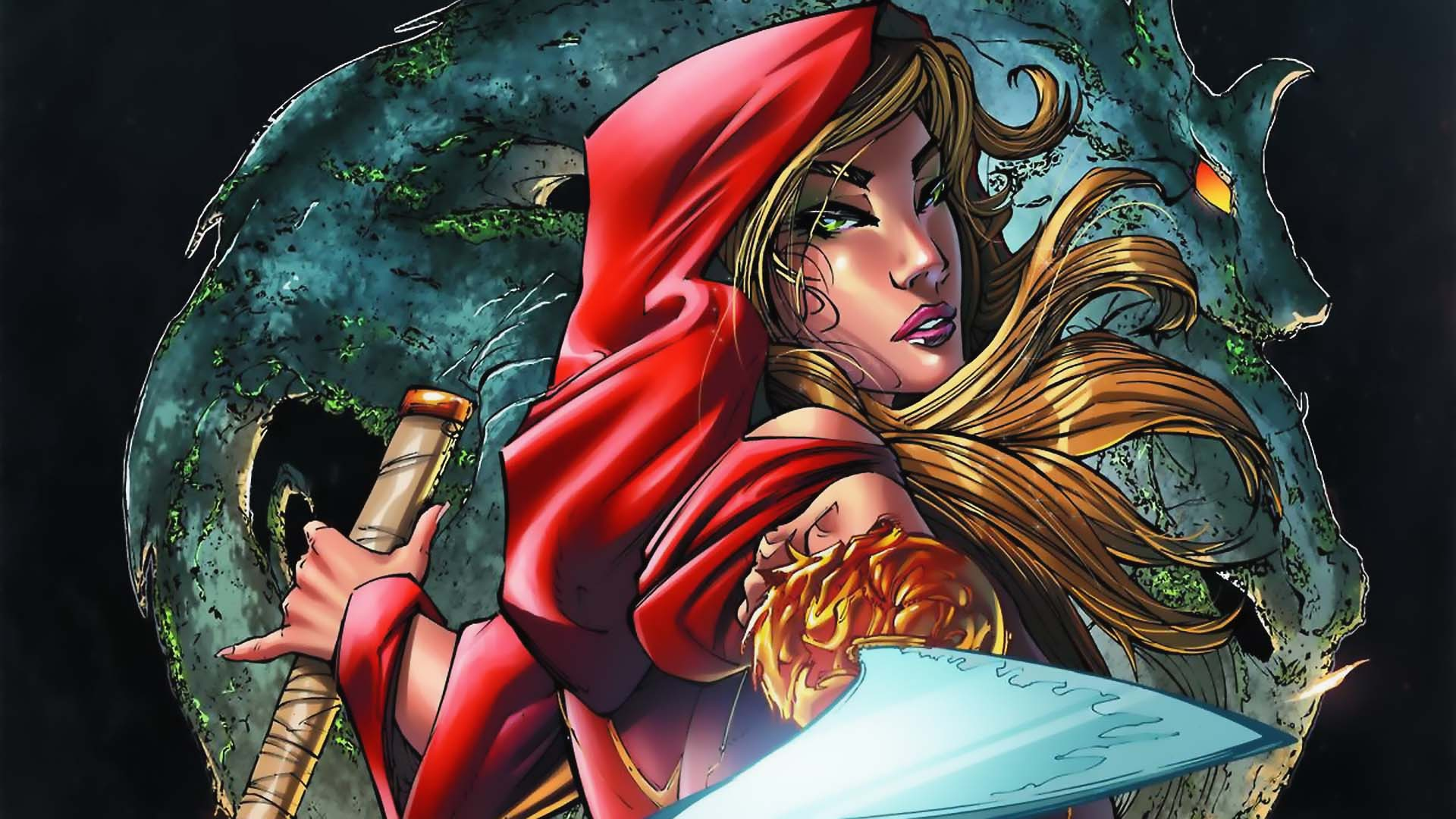 Grimm Fairy Tales Code Red HD Wallpaper Background
