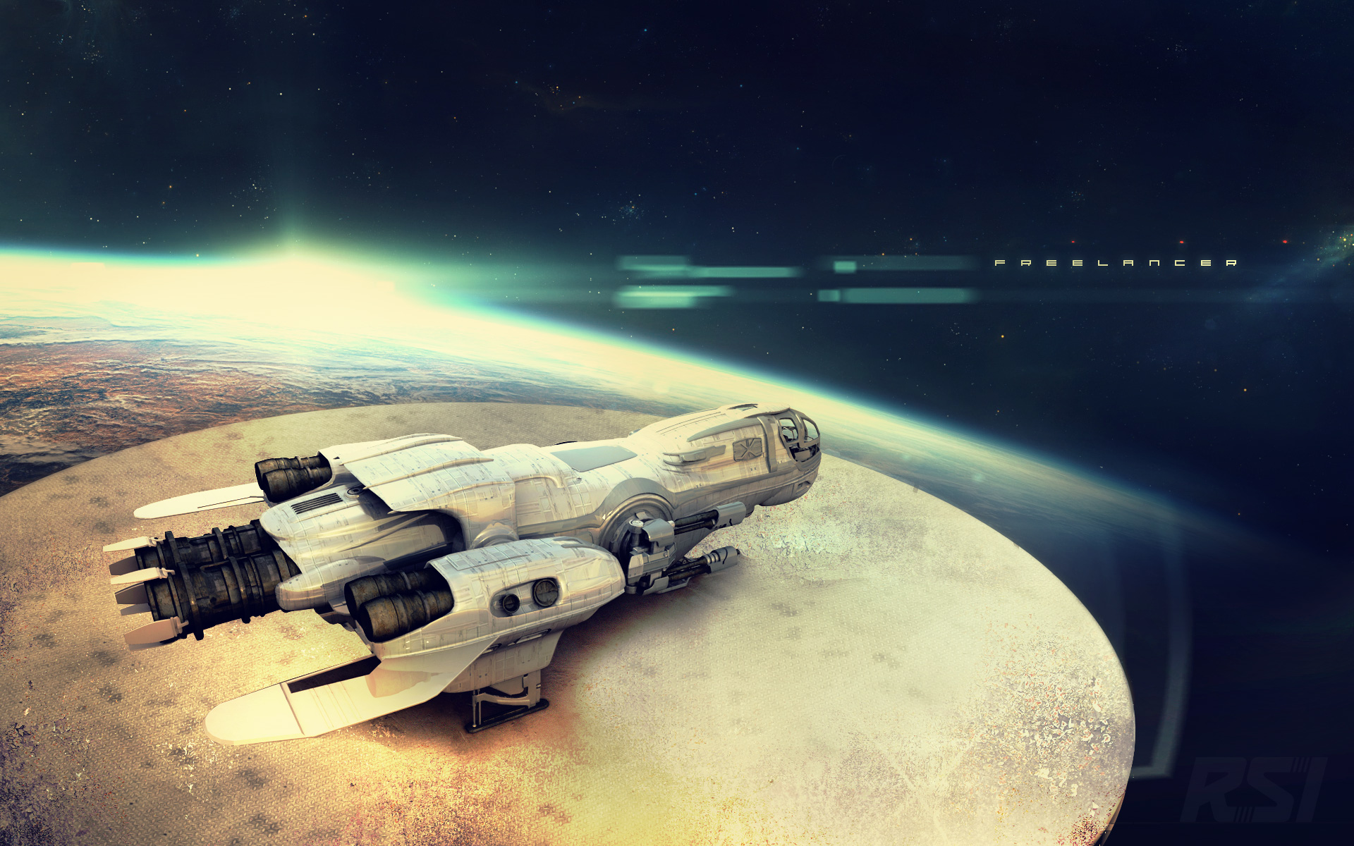 Star Citizen Screenshots Strut Its Graphics High Poly