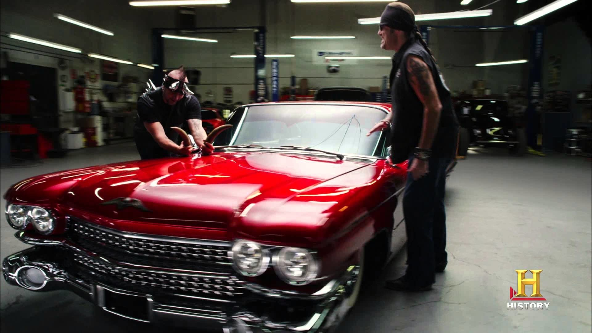 Counting Cars Hd Wallpaper