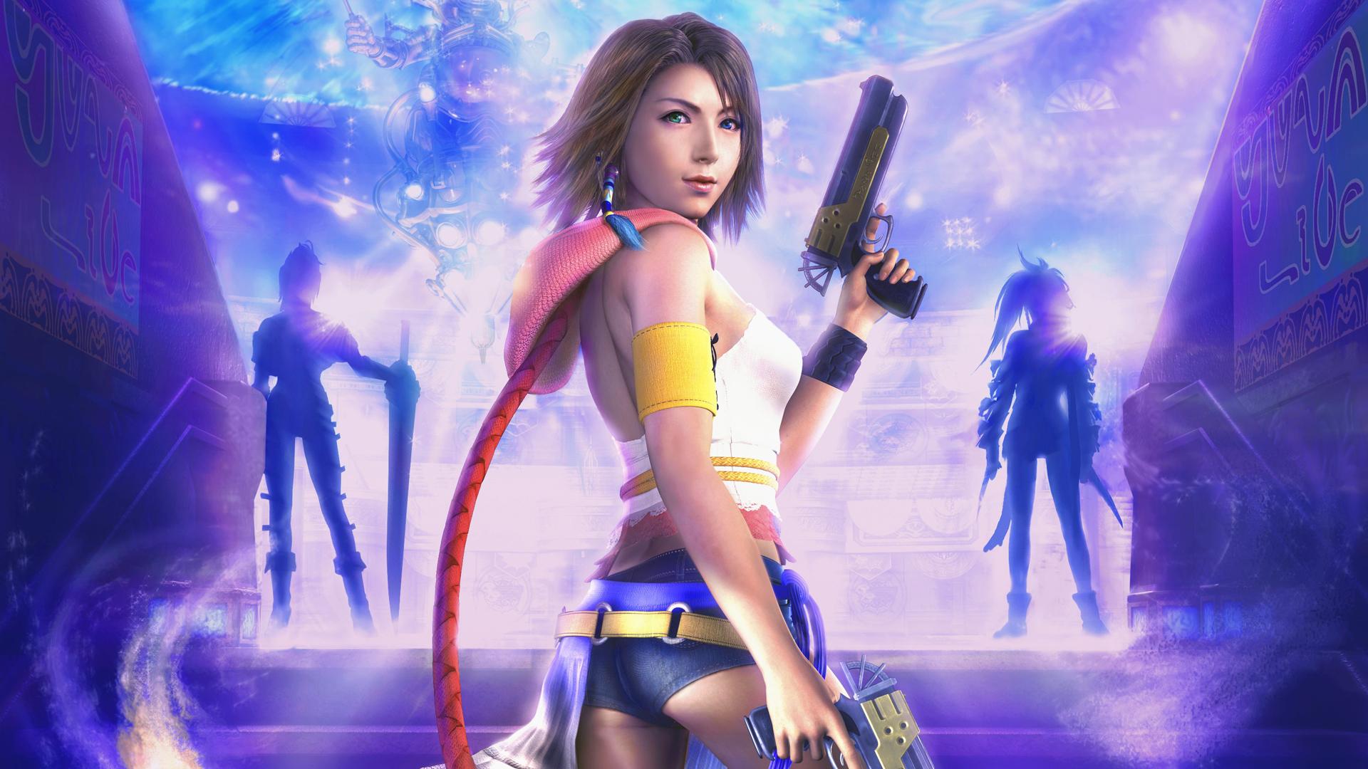 Final Fantasy X 2 Wallpaper HD Wallpaper Background