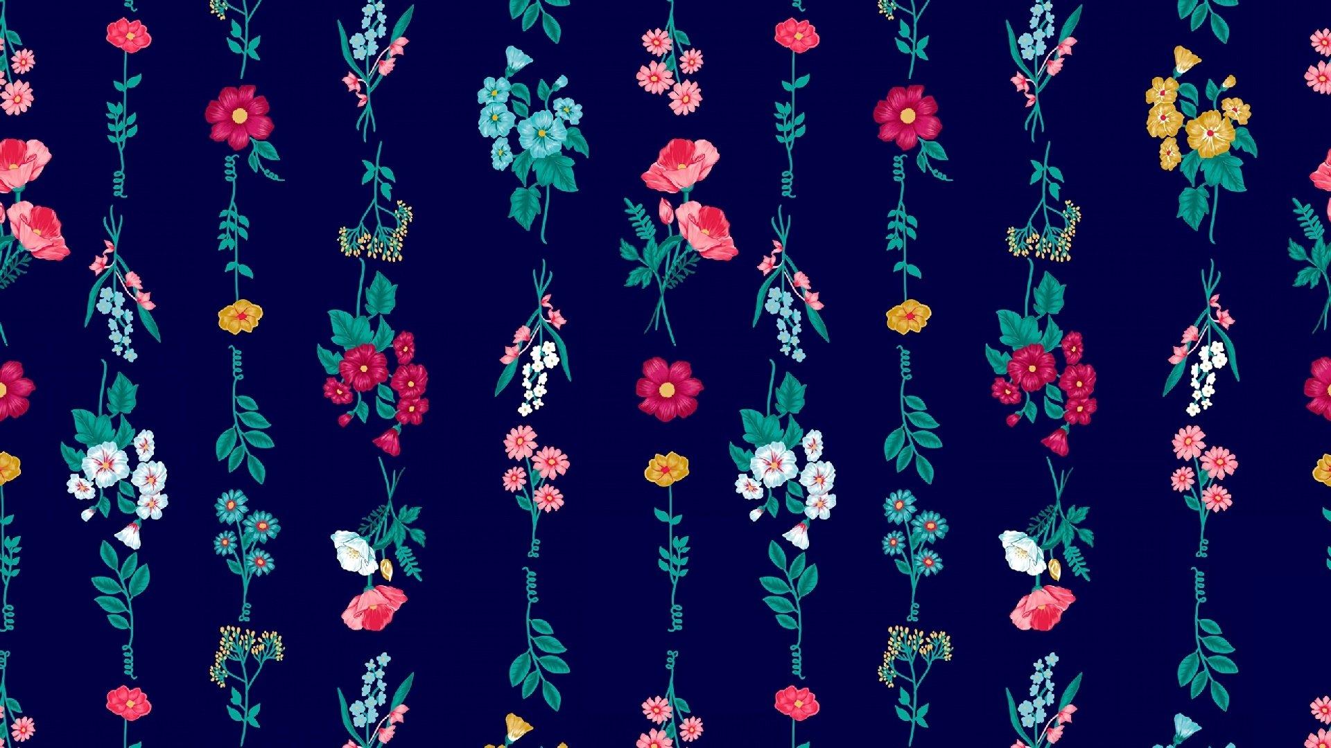 Flower Pattern Hd Wallpaper Background Image 1920x1080 Id 998820 Wallpaper Abyss