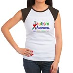 Autism Awareness Women's Cap Sleeve T-Shirt