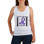 Hodgkin's Lymphoma Month Gem Women's Tank Top