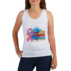 Splash Breast Cancer Women's Tank Top