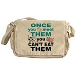 Animal Compassion Messenger Bag