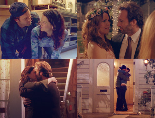 Image result for lorelai and luke