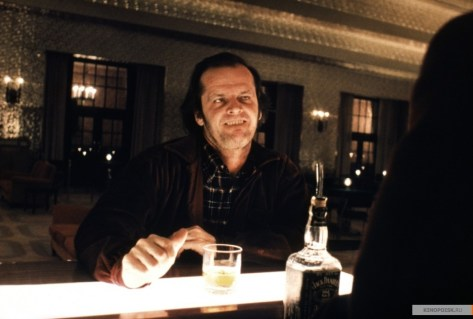 Jack Nicolson in The Shining