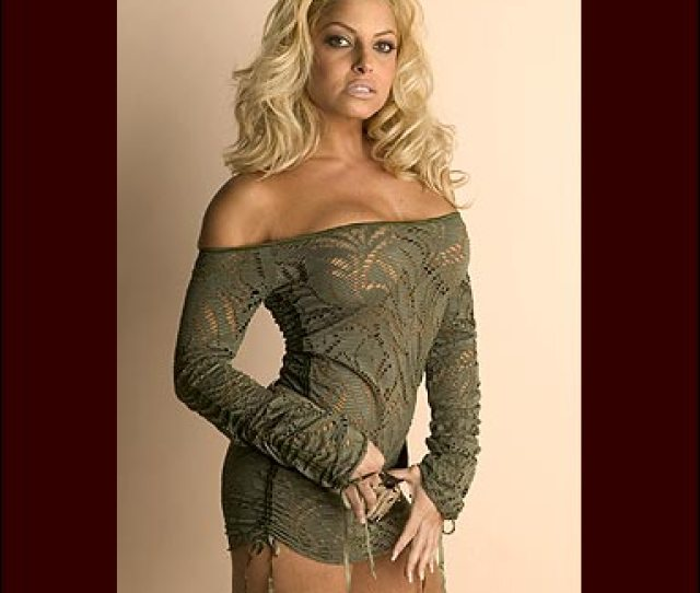 Trish Stratus Images Trish In Green Wallpaper And Background Photos