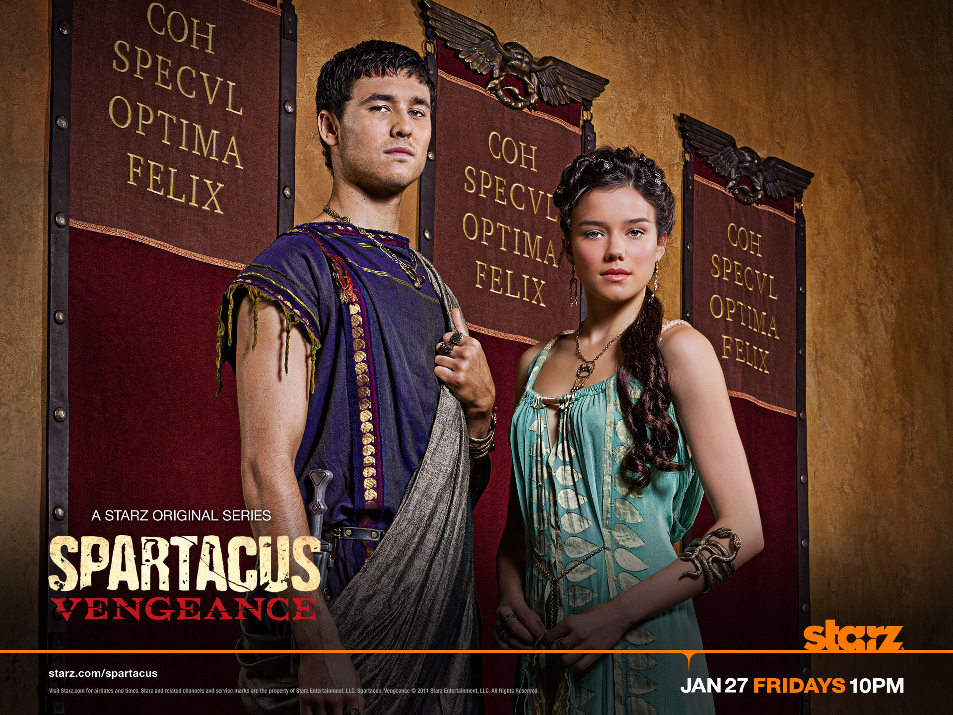 Seppius & Seppia - spartacus-blood-and-sand wallpaper