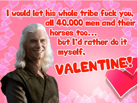 Our Favourite Themed Valentines Cards Lotr Got Me Skyrim In Other Worlds