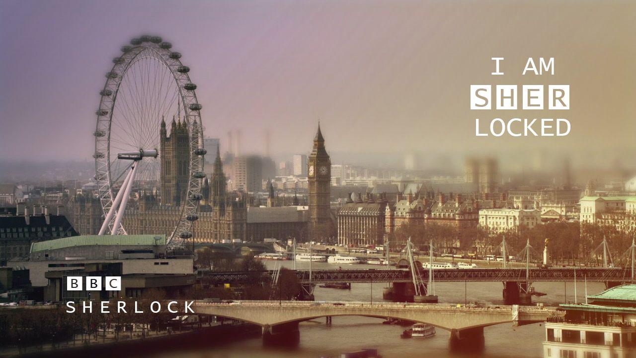 BBC Sherlock London I am SHERlocked image