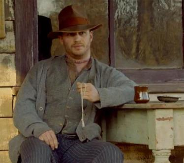 Tom Hardy Bilder Stills from Lawless  Formerly  Wettest County in     Tom Hardy Hintergrund with a boater  a fedora  and a porkpie entitled  Stills from  Stills from Lawless  Formerly  Wettest County in the World