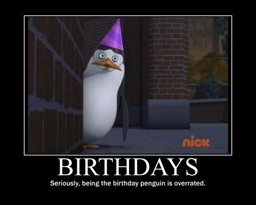 Birthday Pinguin Penguins Of Madagascar Foto 30899089 Fanpop