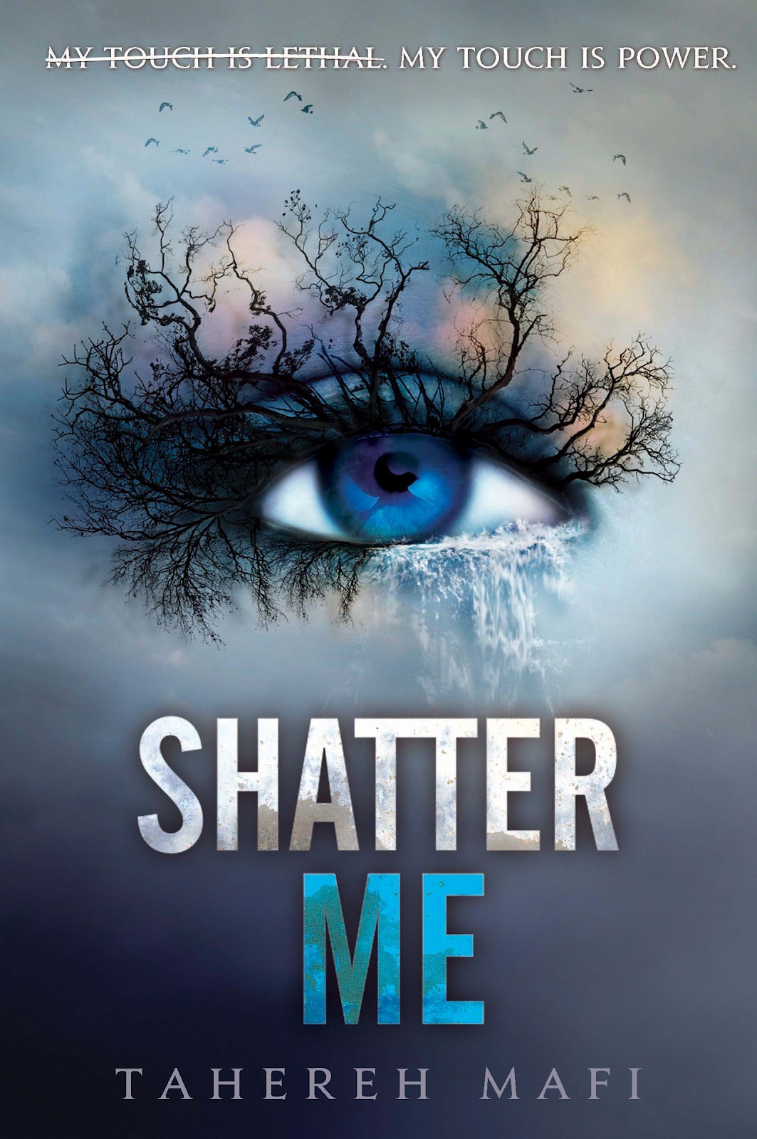 Image result for shatter me book cover
