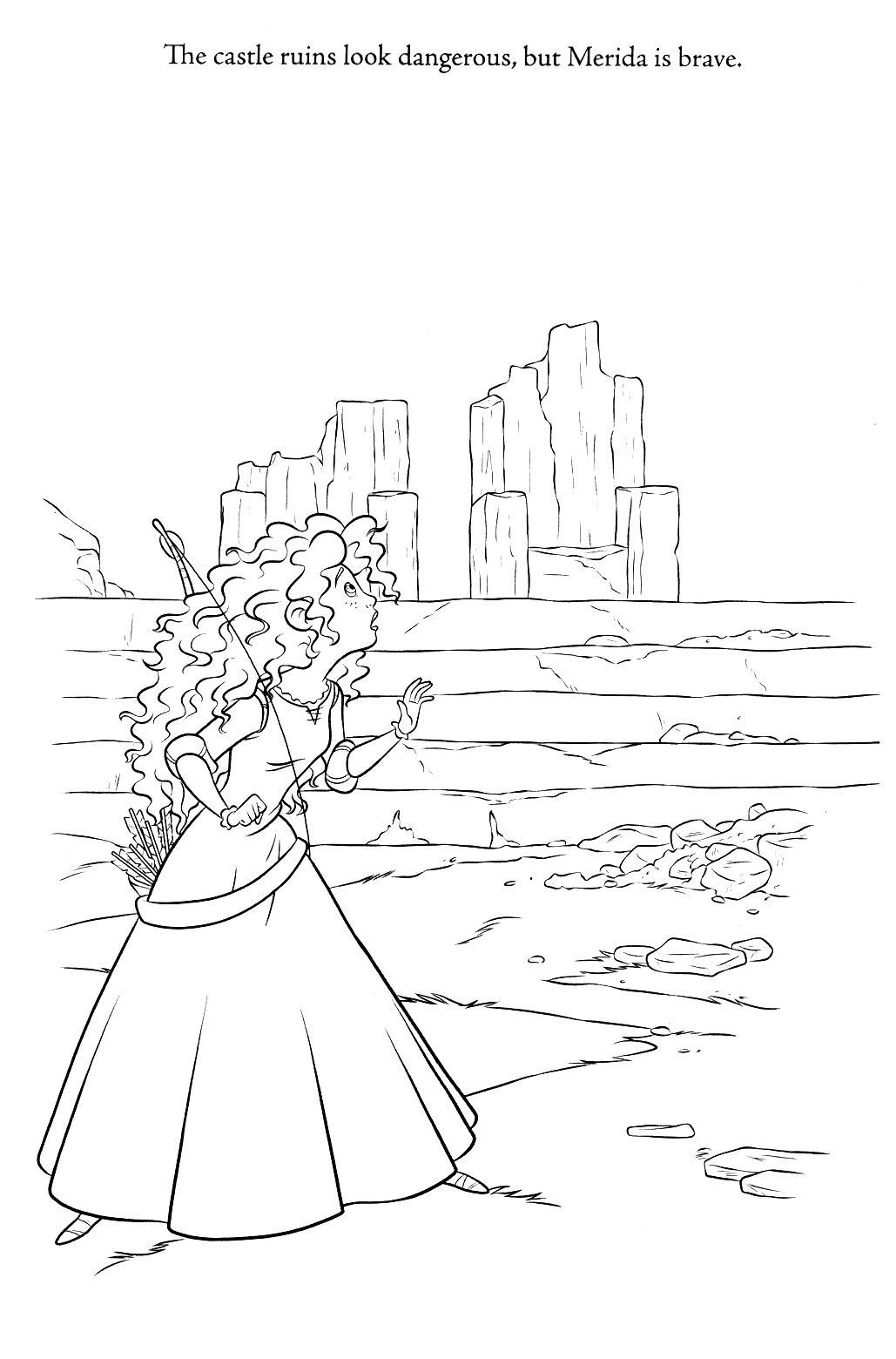 New Brave Coloring Pages Spoiler