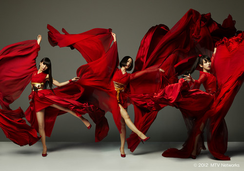 Perfume's MTV Hosting Promo - perfume-group Photo