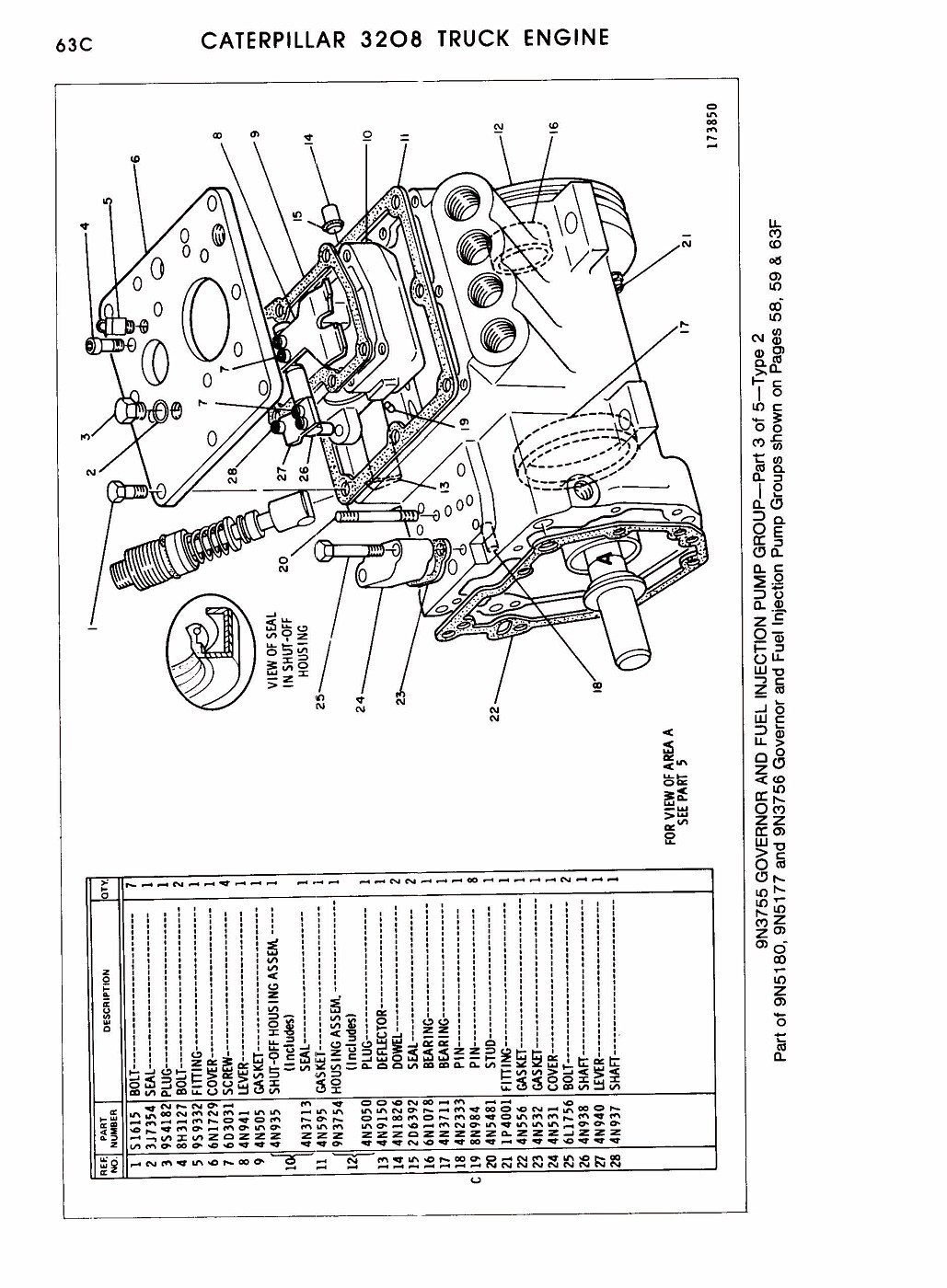 Caterpillar Parts Exploded Diagram